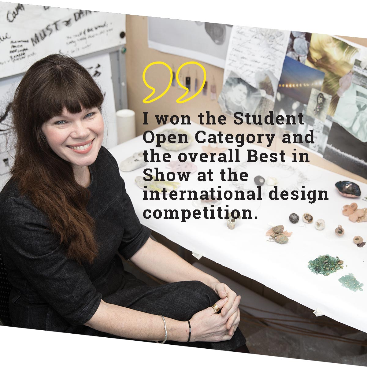 Our degree students are award winning in East Sussex
