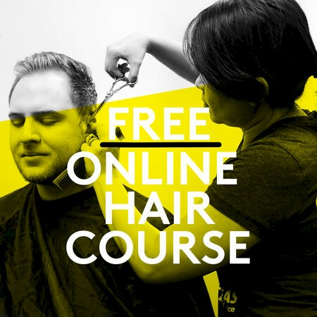 Learn along at home with free online hair course