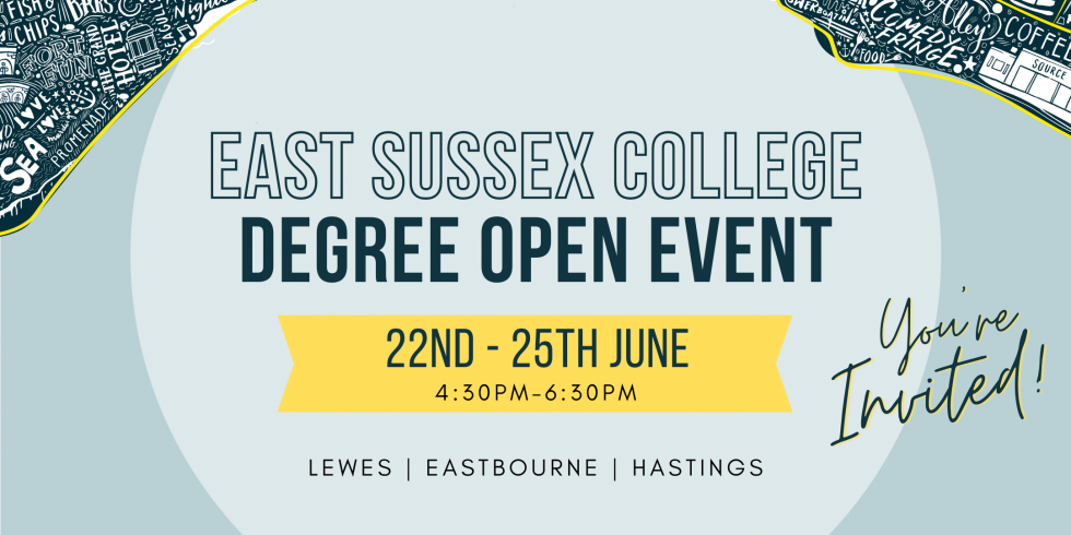 East Sussex College to host degree open events this June