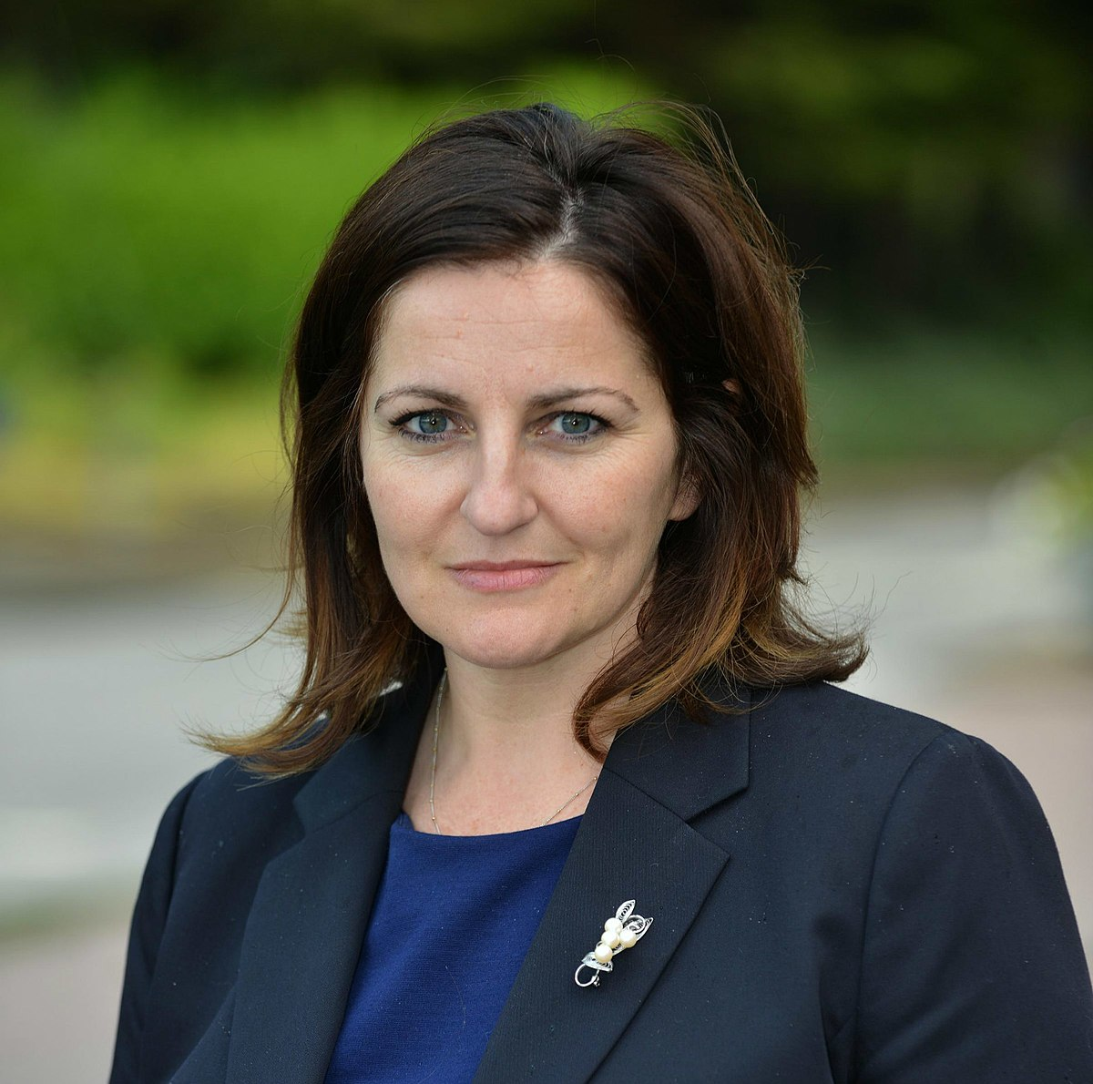 Caroline Ansell, MP for Eastbourne and Willingdon